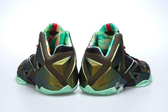 Nike Lebron Xi 11 Parachute Gold Update 2
