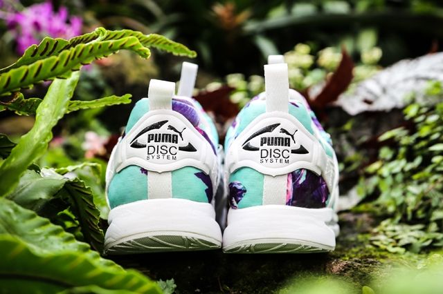 Puma Disc Tropicalia Teal Heel