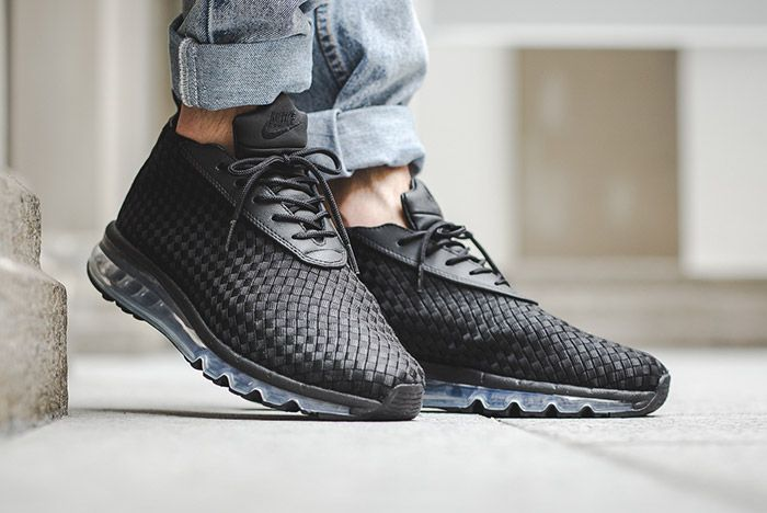 Nike Air Max Woven Boot Black 2