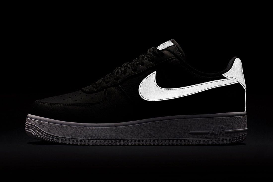 Nike Air Force 1 Refelctive Swoosh Pack 6
