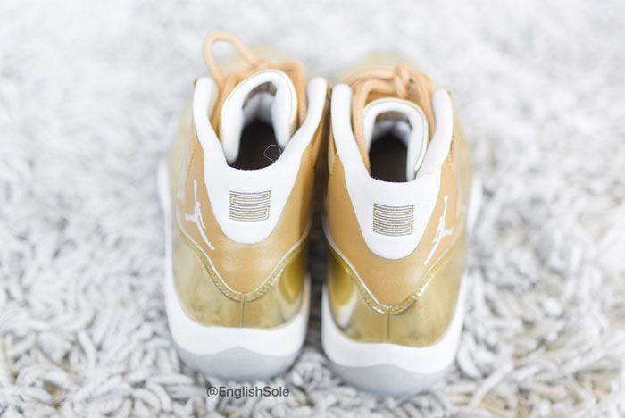 Air Jordan 11 Ovo Metallic Gold Sample 2 Ig Leak