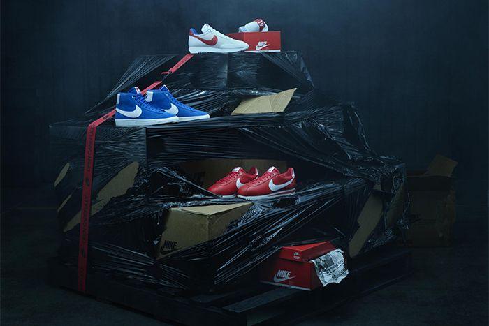 Stranger Things Nike Collaboration Og Pack Release Date Group