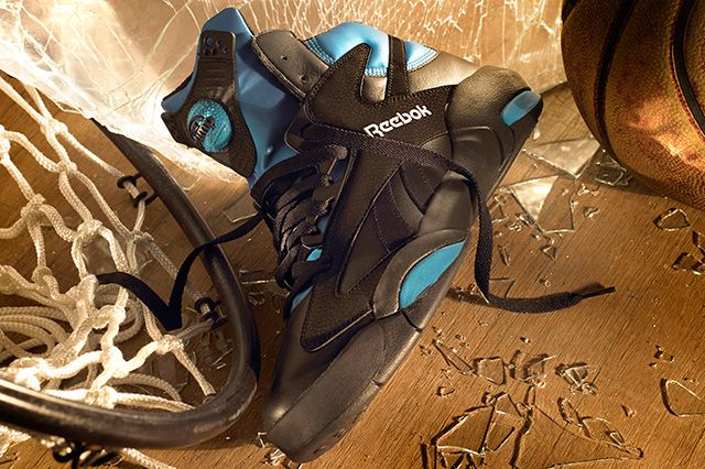 Reebok Shaq Attaq Black Azure Blue 4