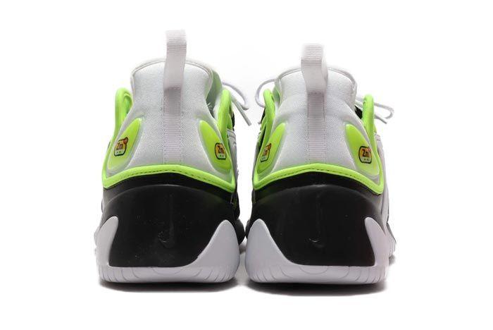 Nike Zoom 2K Black White Volt Heels