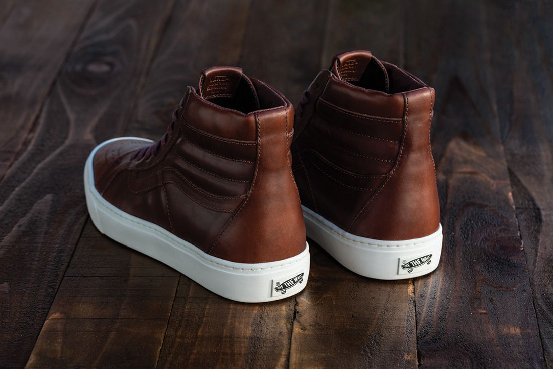 Horween Leather X Vans Vault Collection11
