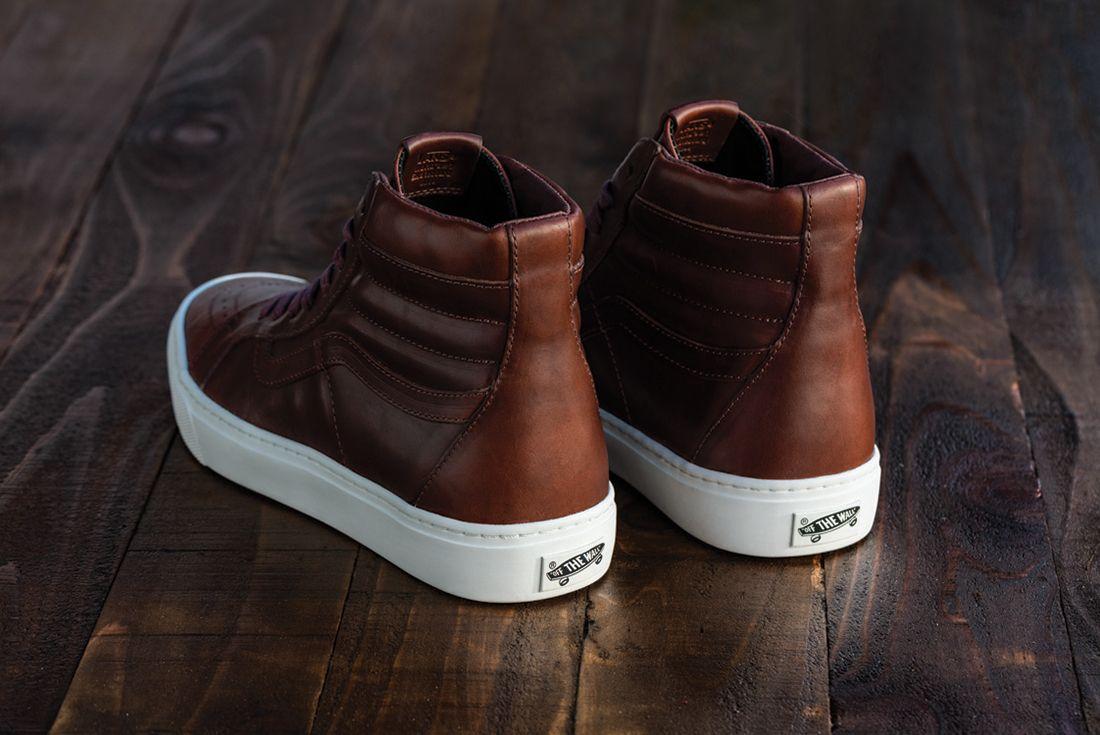 Horween Leather X Vans Vault Collection11