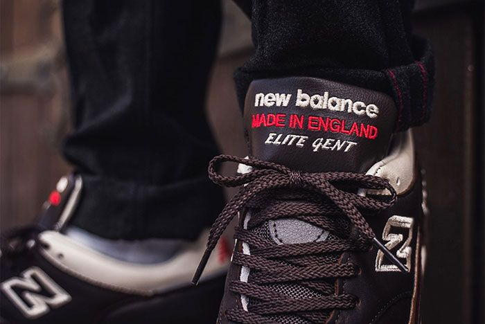 New Balance 1500 M1500Gnb Elite Gent Brown Tongue Detail