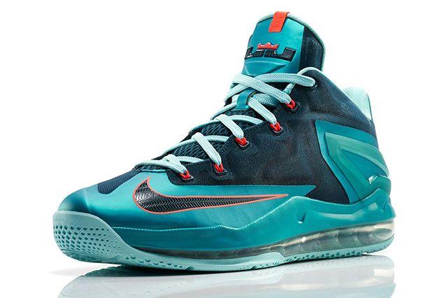 Nike Lebron 11 Max Low Turbo Green 2
