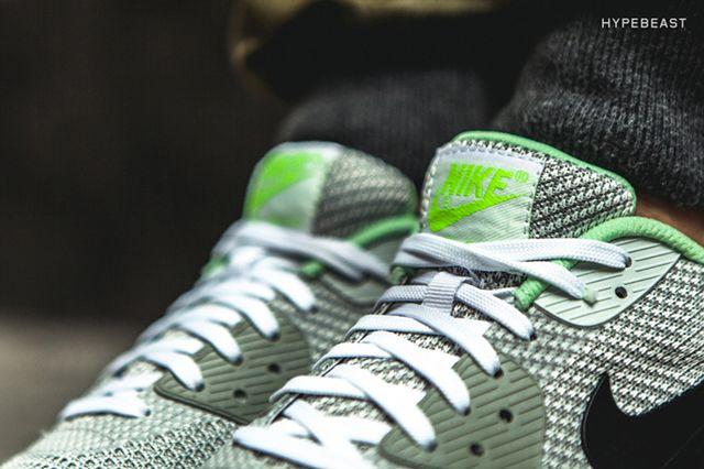 Nike Air Max 90 Knit Jacquard Ice Qs Grey Mist 4