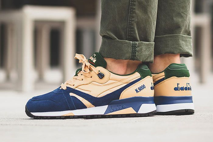 Diadora N9000 Double L Estate Blue 2