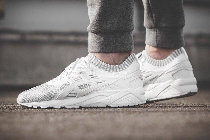Asics Gel Kayano Trainer Knit Reflective White 3