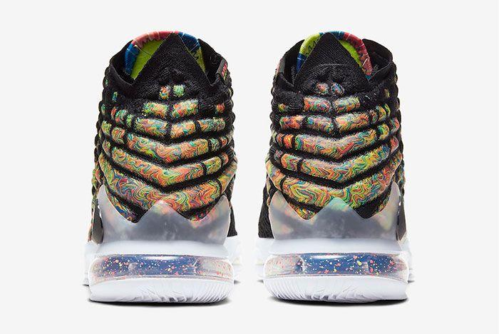 Nike Lebron 17 James Gang Heel