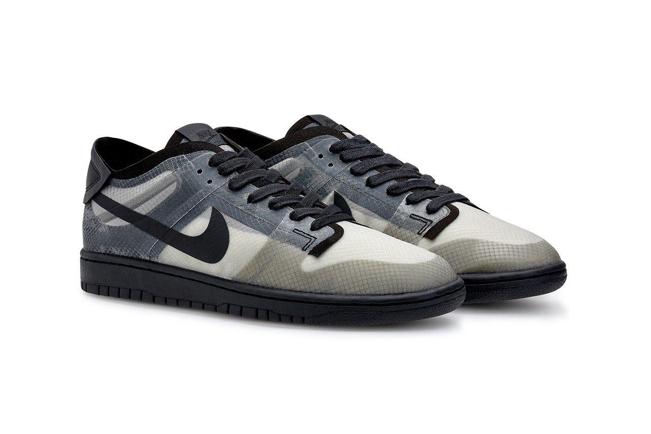 Comme des Garçons x Nike Dunk Low Angled