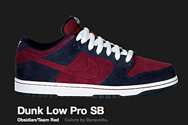 Nike Team Red Dunk Low Pro Sb 2010 1