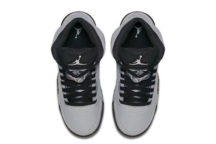 Air Jordan 5 Gs Wolf Grey 1