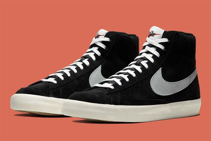 Nike Blazer Mid 77 Cw2371 001 Front Angle