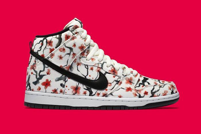 Nike Sb Dunk High Cherry Blossom 2