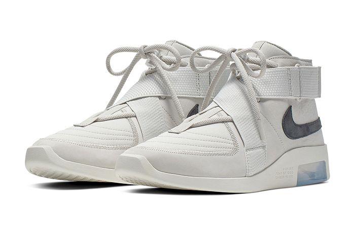Nike Air Fear Of God 180 Light Bone Official 1
