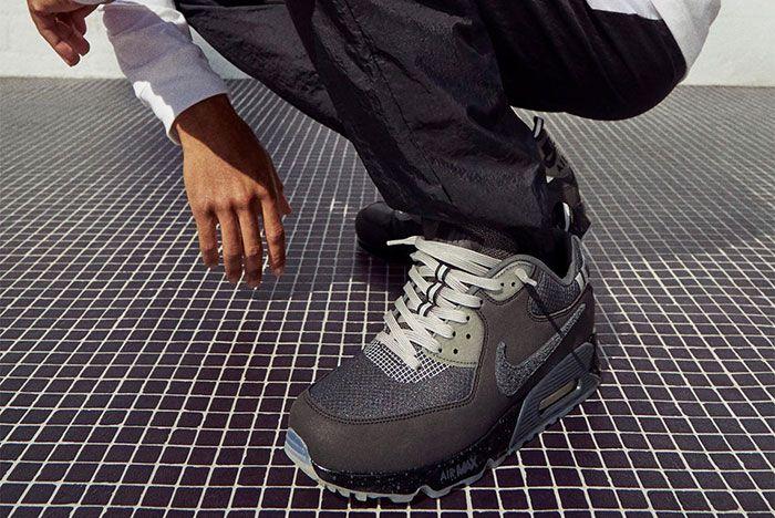 Undftd Nike Air Max 90 Black 1 Official Lookbook