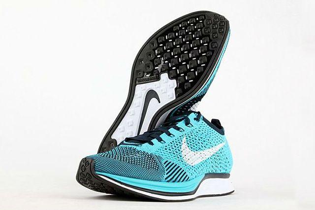 Nike Flyknit Racer Turquoise 5