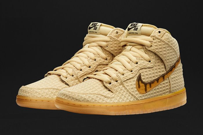 Nike Sb Dunk High Chicken Waffles