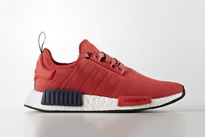 New Adidas Nmd R1 Colourways Red