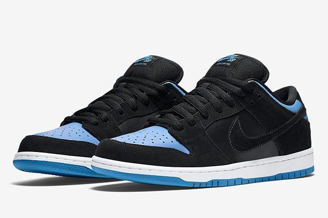 Nike Sb Dunk Low Pro Blackuniversity Blue3
