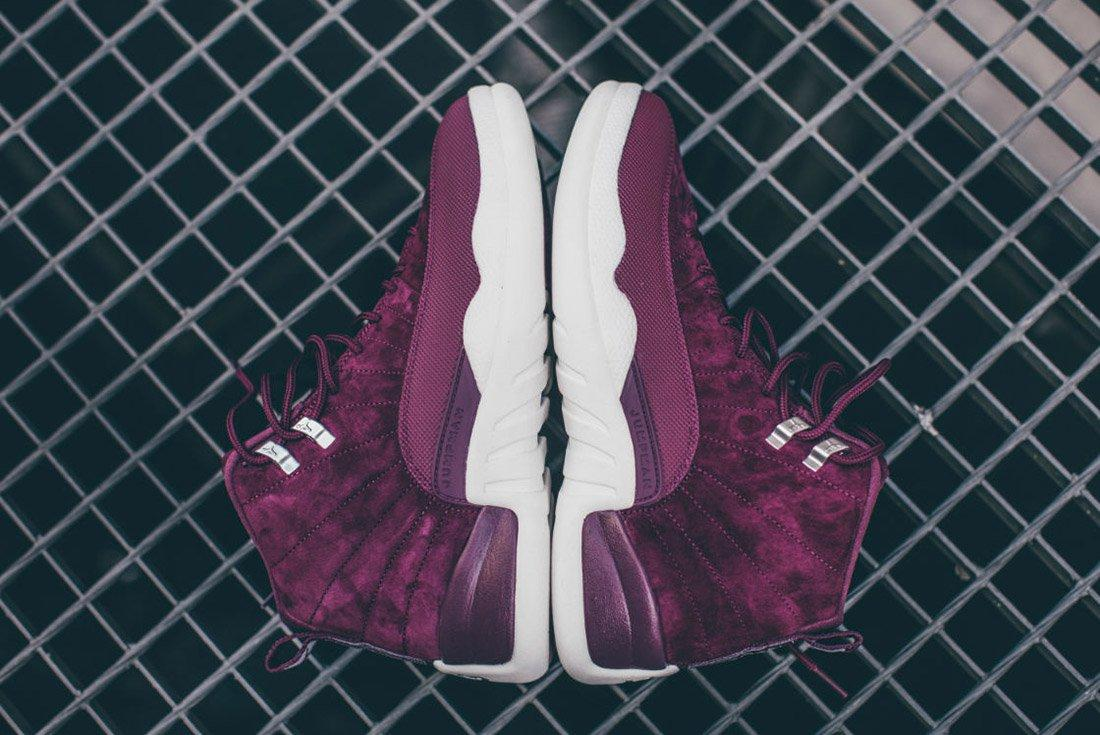 Air Jordan 12 Bordeaux 5