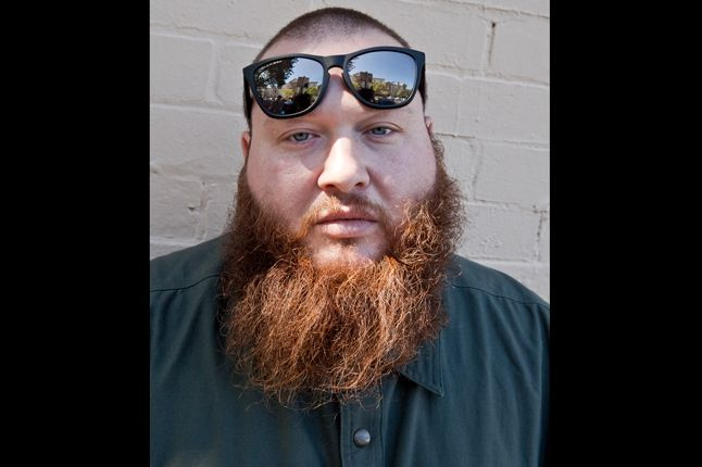 Action Bronson At Sneaker Freaker With Portrait 1