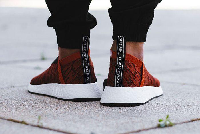 Adidas Nmd City Sock 2 Harvest Red 6