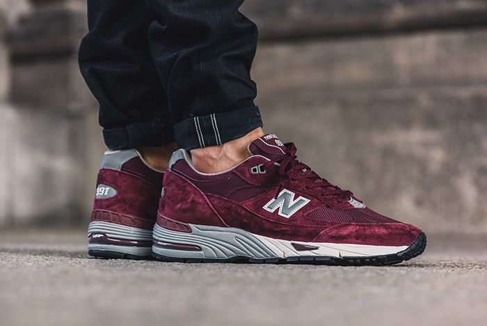 New Balance 991 Made In England Burgundy 1