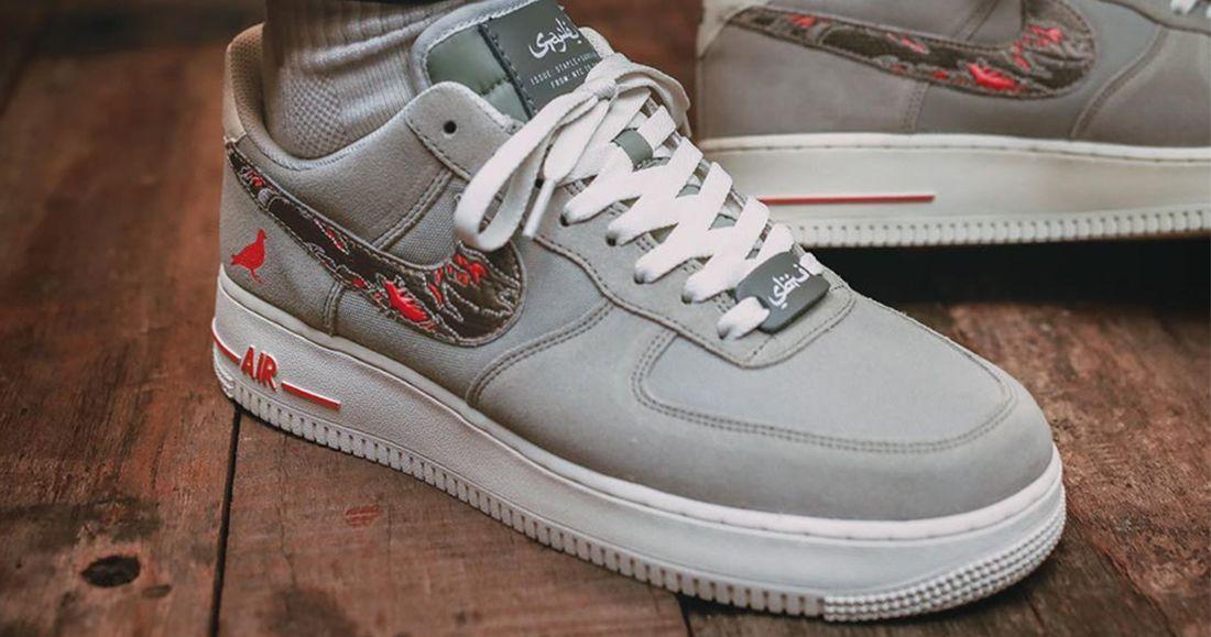 Jeff Staple x Sabotage x Nike Air Force