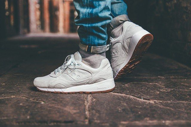 Saucony Irish Coffee Pack On Foot 8 640X4271