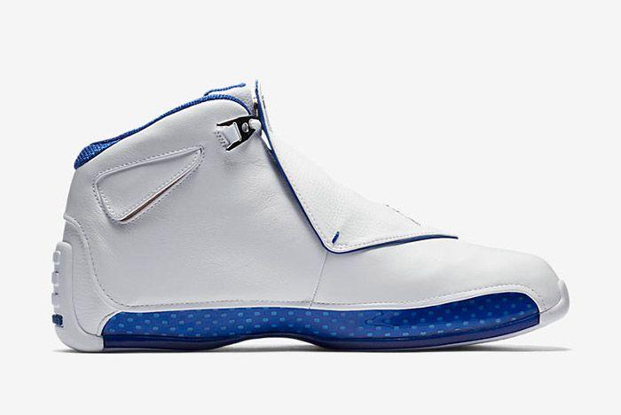 Air Jordan 18 White Sport Royal 2018 Retro Sneaker Freaker 5