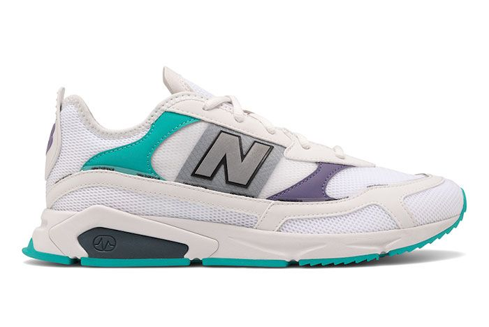 New Balance X Racer White Lateral