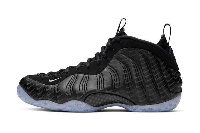 Nike Air Foamposite One Black Mini Swooshes Leak Release Date Lateral