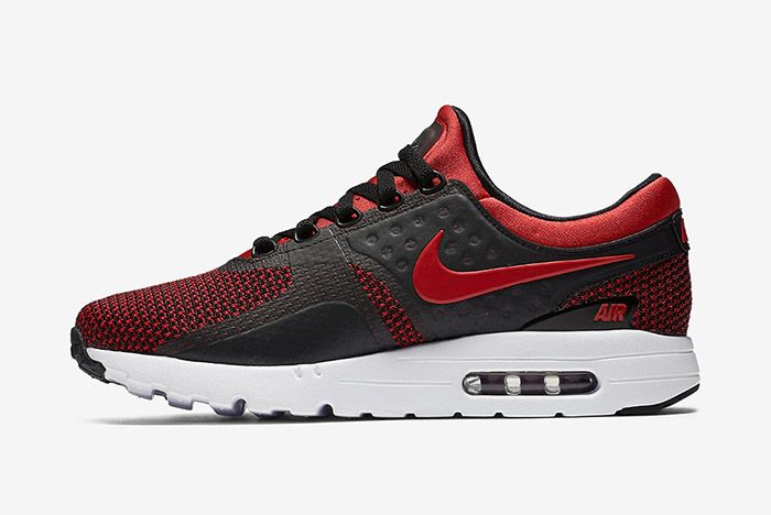 Nike Air Max Zero Bred Black Red 5