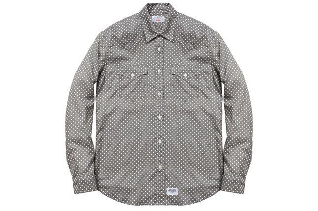Supreme Levis Grey Shirt 1
