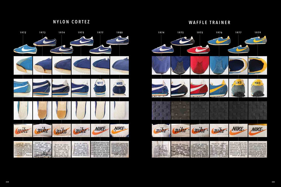 Lightning Nike Chronicle Deluxe 1971-1980s Cortez Waffle Spread