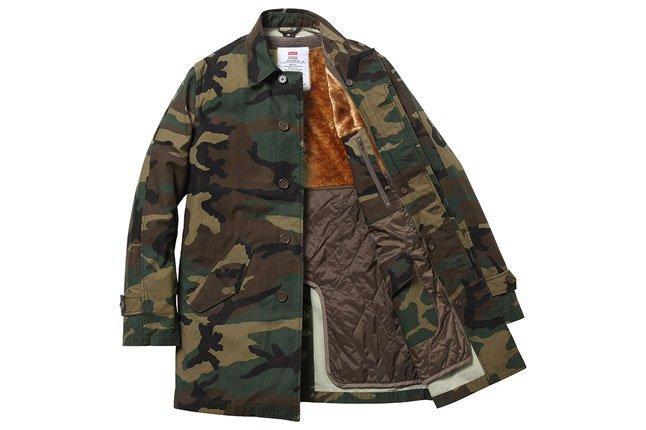 Supreme Camo Overcoat 1