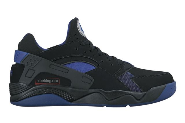 Nike Air Flight Huarache Black Blue