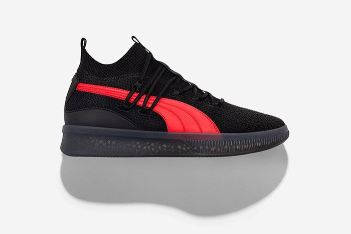 Puma Clyde Court City Pack Black Red