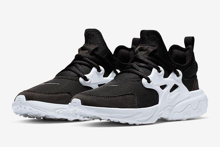 Nike Air Presto React Summer Black White