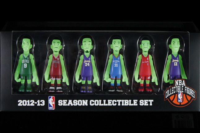 Bait Mindstyle Coolrain Nba Glow In The Dark Figure Pack Box 1