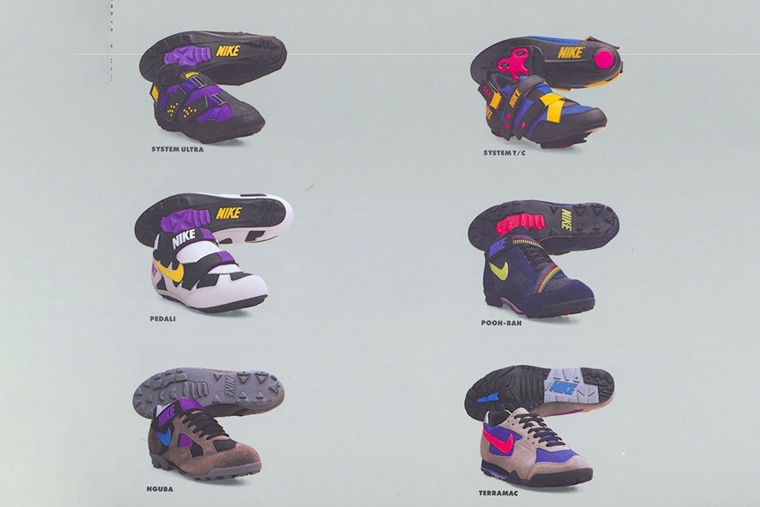 Nike Spring 1993 Catalogue Cycling