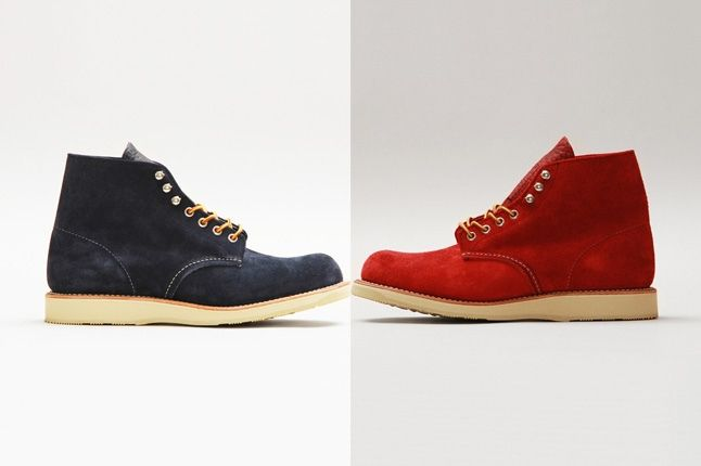 Red Wing Shoes Concepts Plain Toe Thumb