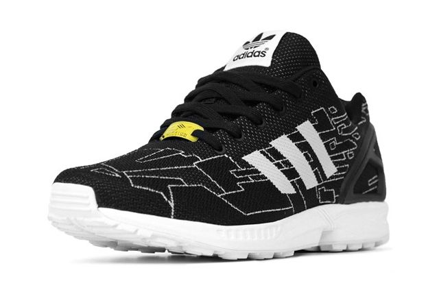 Adidas Originals Zx Flux Black Running White Onix 3