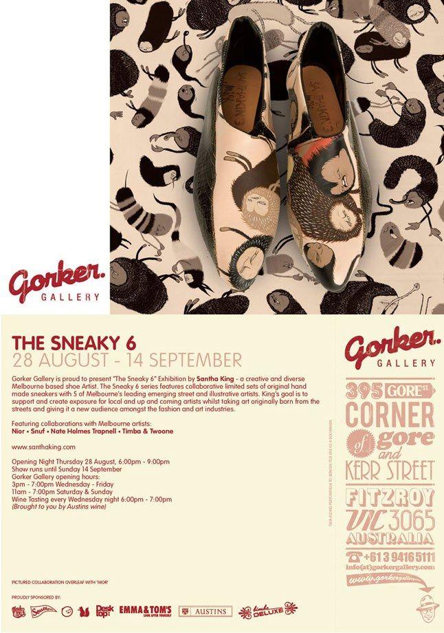 Sneaky 6 Exhibition 1