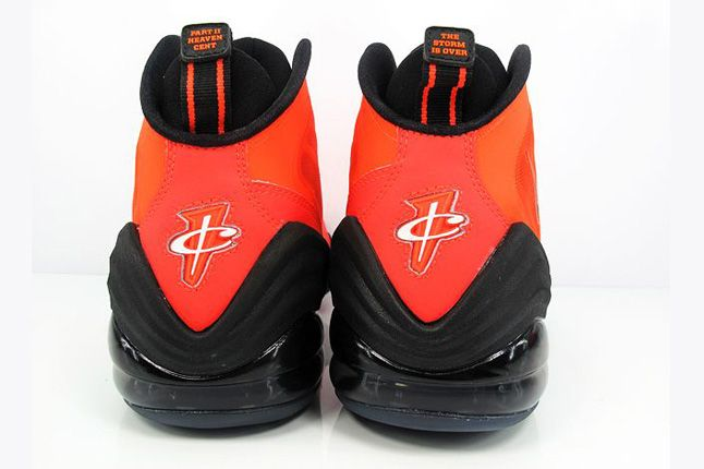 Nike Air Penny V Crimson Black Straight Heels 1