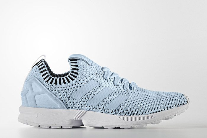 Adidas Zx Flux Primeknit Baby Blue 1